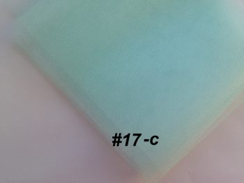 Фатин средней жесткости Kristal Tul, Турция, ширина 3 метра, Нежная мята