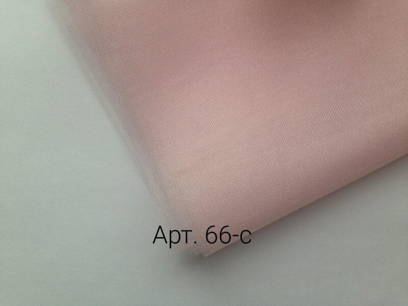 Фатин средней жесткости Розовый жемчуг
