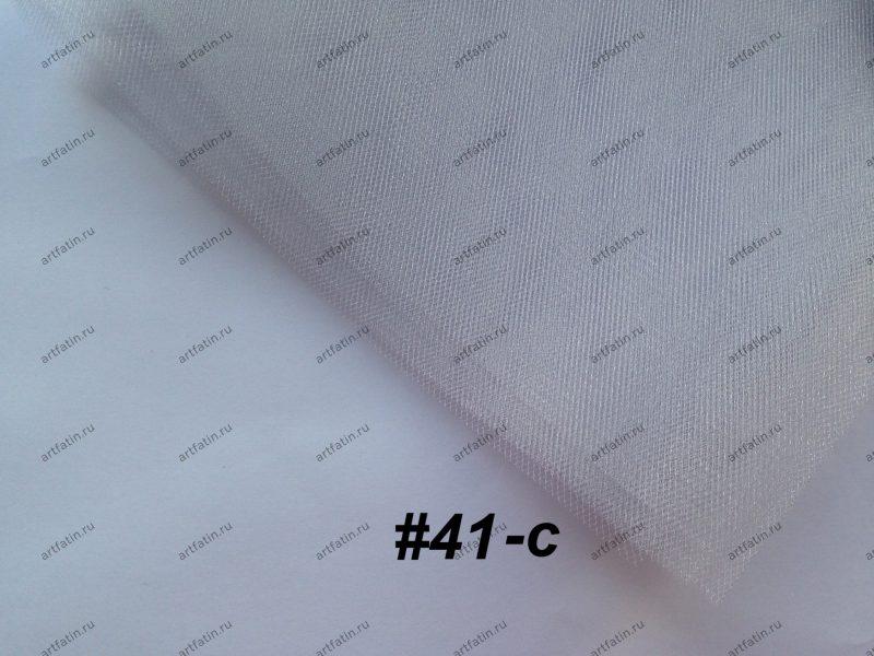Фатин средней жесткости Kristal Tul, Светлый Серый