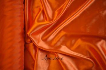 Атлас стрейч оранжевый