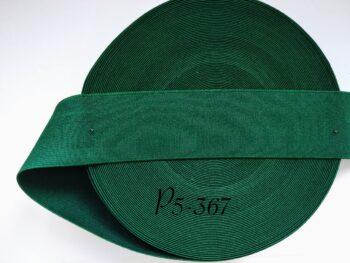 Резинка для пояса 5 см зеленая