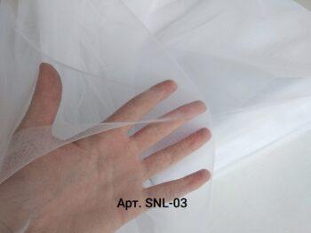 Фатин для вышивки Sanal Белый
