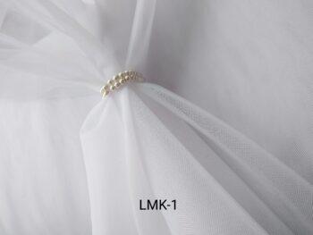 Фатин для вышивки белый