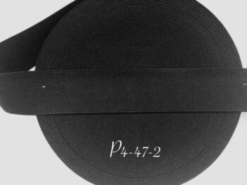 Резинка для пояса 4 см черная