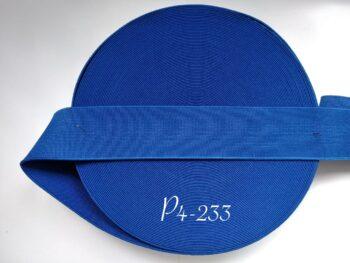 Резинка для пояса 4 см синяя